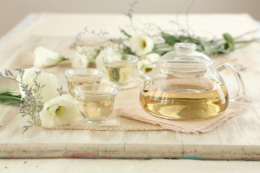 Cata de té blanco