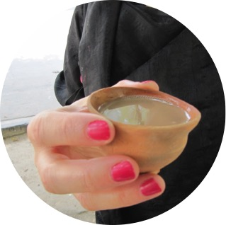 taza de té en india
