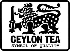 Logo del león del té de Ceilán o Ceylon Tea